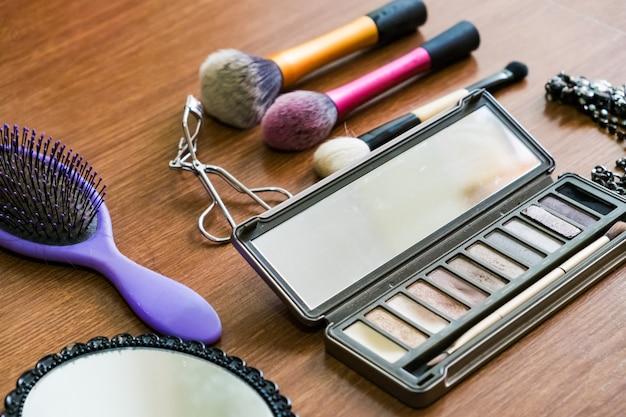 Maquillaje cepillo producto belleza