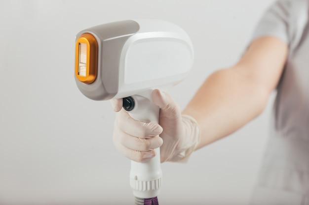 Máquina de depilación láser