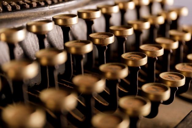 Máquina de escribir antigua. máquina de escribir vintage