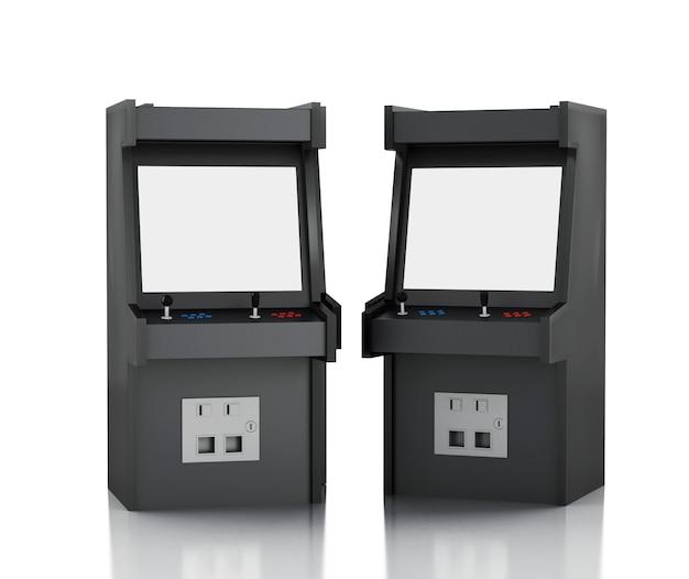 Maquina de juegos 3d arcade