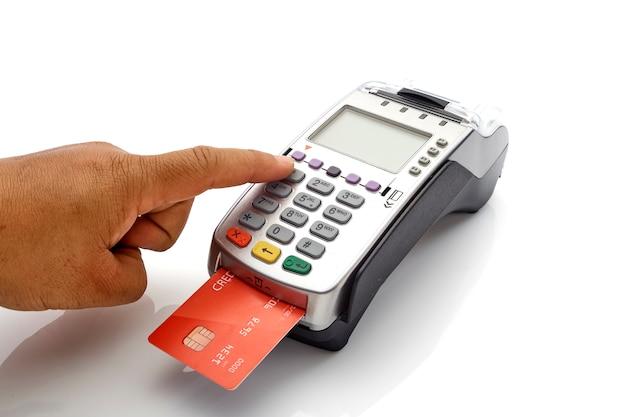 Máquina de tarjeta de crédito