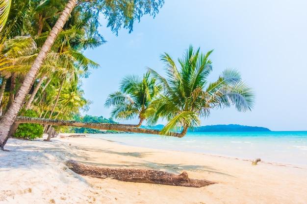 Mar caribe cielo paraíso de vacaciones