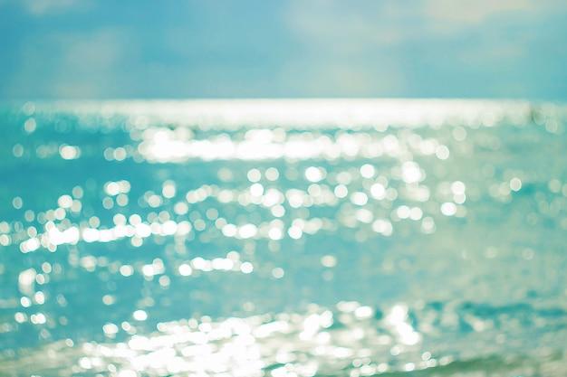 El mar mediterráneo túnez mahdia. enfoque selectivo