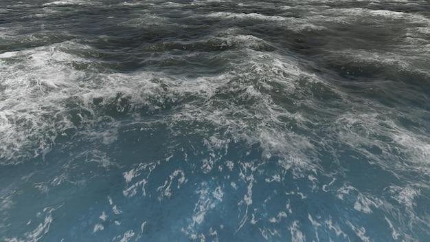Mar visto desde arriba
