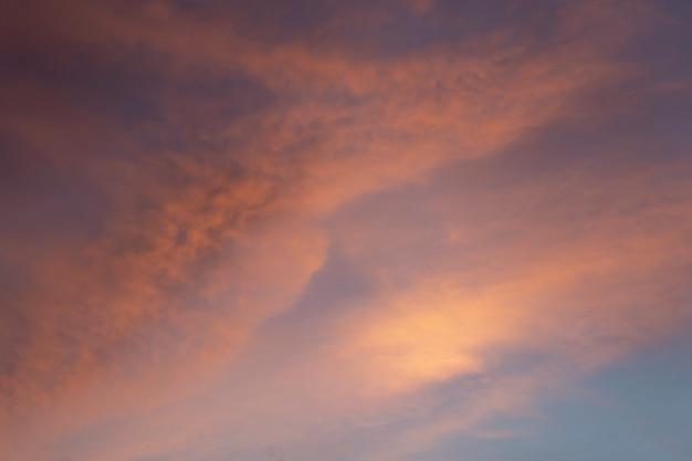 Maravilloso atardecer o amanecer.