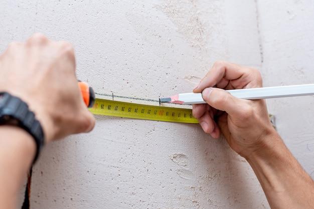 Marcas arquitectónicas de lápiz