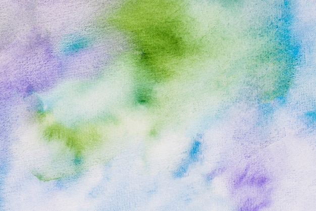 Marco completo de acuarela con textura de fondo Foto gratis