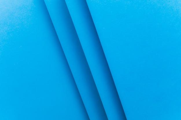 Marco completo de papel fondo azul