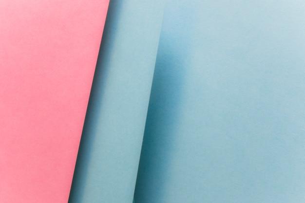 Marco completo de papel geométrico abstracto telón de fondo
