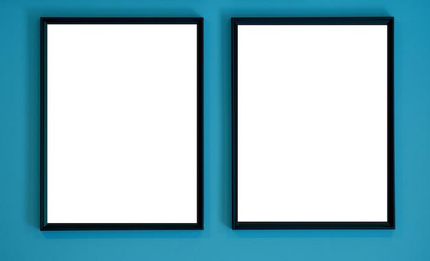 Marco de fotos, galería, marco en blanco, decoración de la foto
