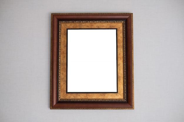 Marco de fotos, marco en blanco para texto