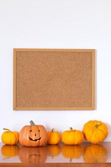 Marco de fotos vacías de halloween