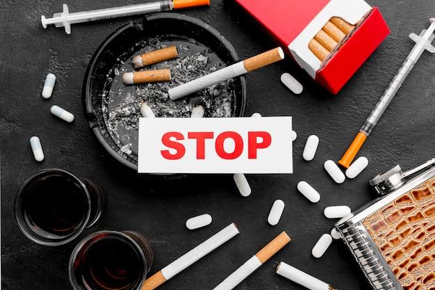 Marco de hábitos poco saludables