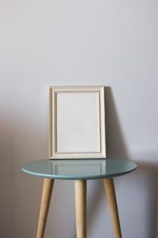 Marco de madera de la decoración para usted cartel o fotografía.