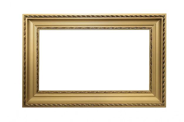 Marco de madera de oro