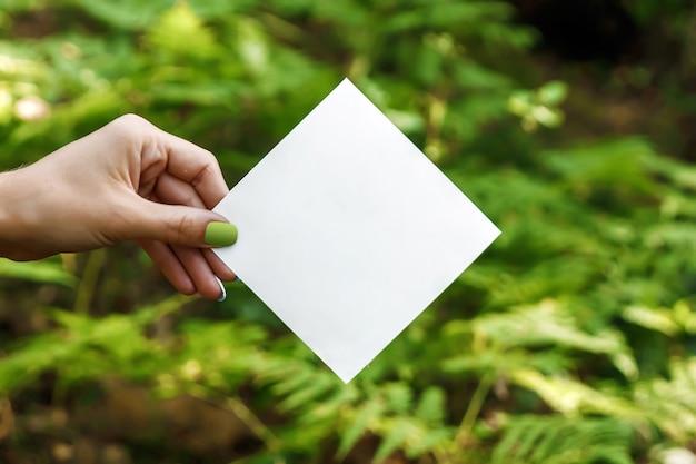 Marco de papel de rombo