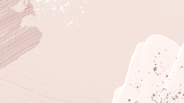 Marco de textura de pintura acrílica en rosa pastel