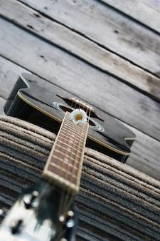 Margarita de cuerda de guitarra