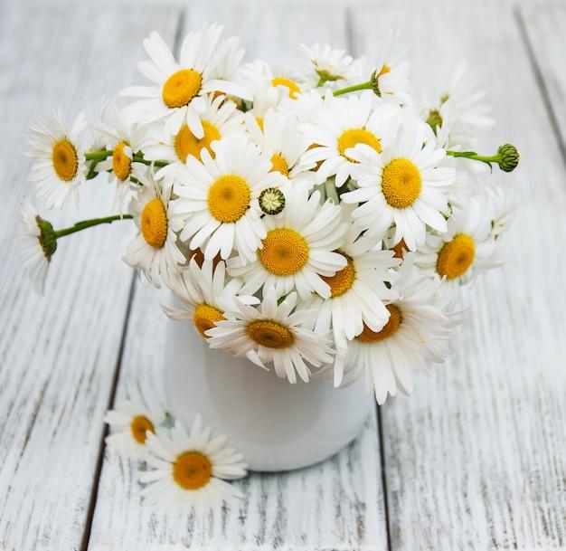 Margaritas en florero