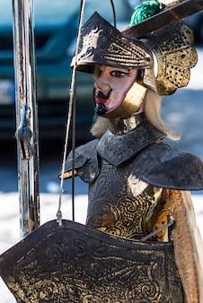 Marioneta siciliana en venta, sicilia.