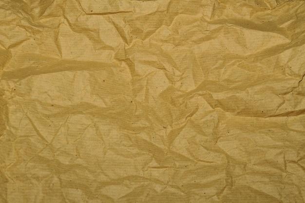 Marrón desastrosamente textura de papel