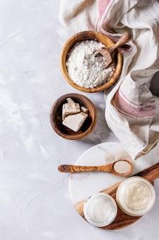 Masa para hornear pan