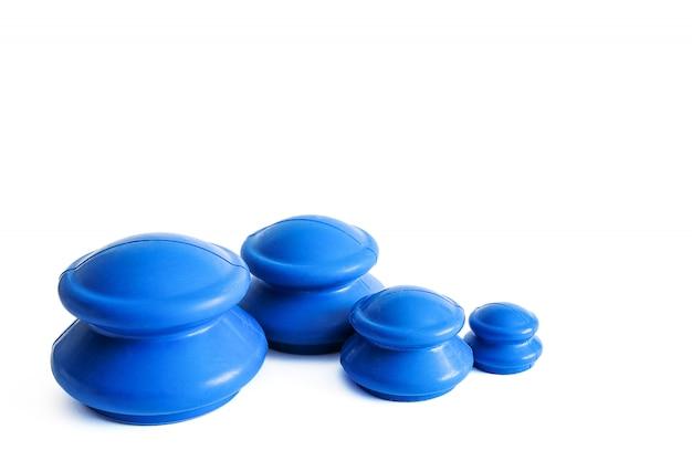 Masaje de goma anti celulitis.