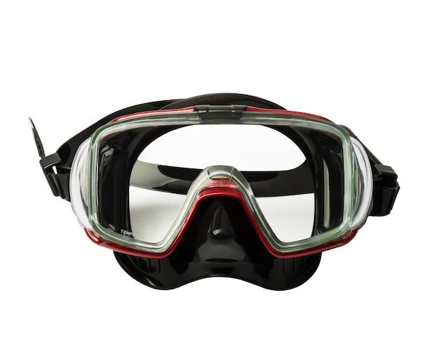 Máscara para bucear bajo el agua.