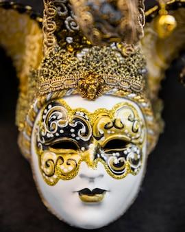 Máscara elegante del carnaval de venecia