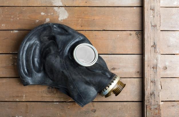 Máscara de gas vieja