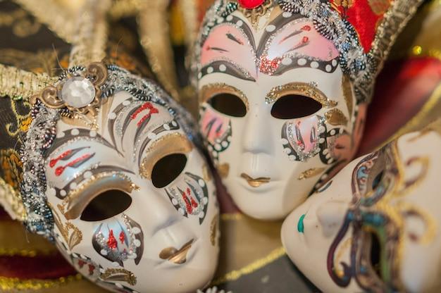 Máscaras de carnaval italianas