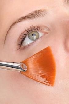 Mascarilla exfoliante facial