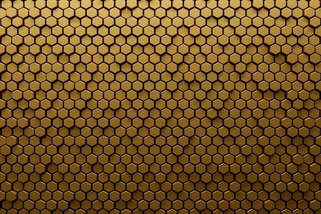 Material liso con textura dorada