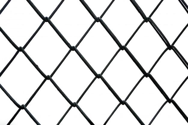 Material de malla de alambre hecho de una red de alambre o hilo.