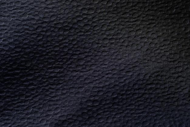 Material negro con efecto viñeta.