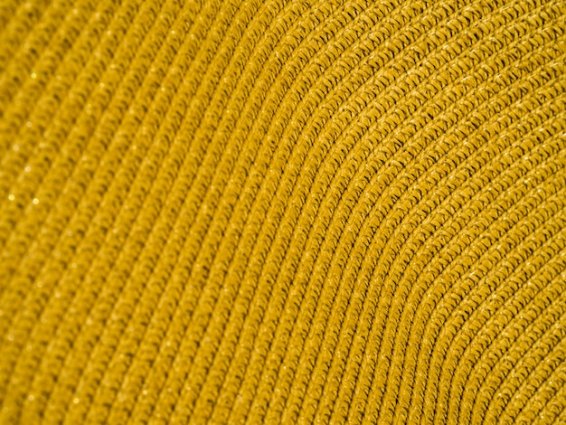 Material de tela colorida de primer plano