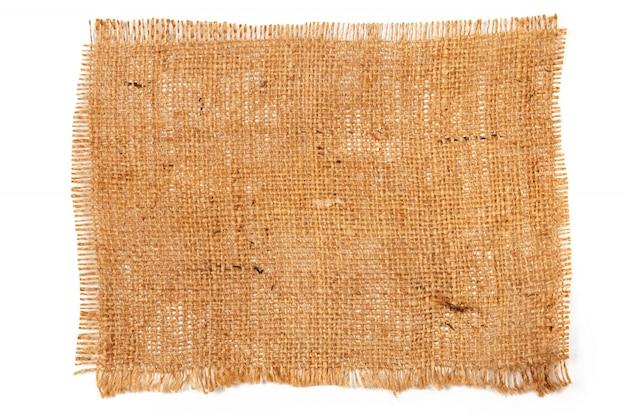 Material de tela de saco