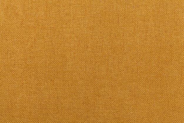 Material textil ocre