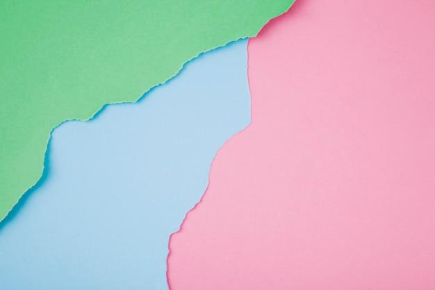 Matriz de coloridos papeles rotos