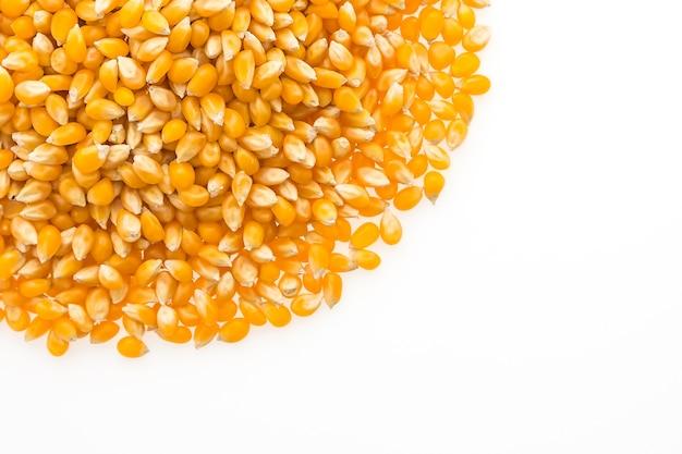Mazorca de maíz dulce nutrición sana pop