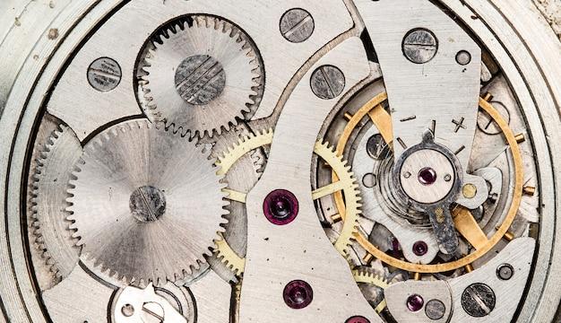 Mecánico antiguo reloj urss reloj de alta resolución y detalle