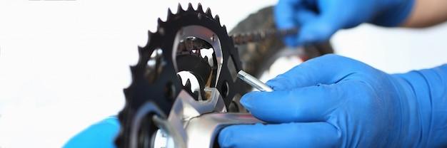 Mecanismo de reparación del vehículo personal, detalles de conexión