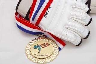 Medalla de oro - taekwondo