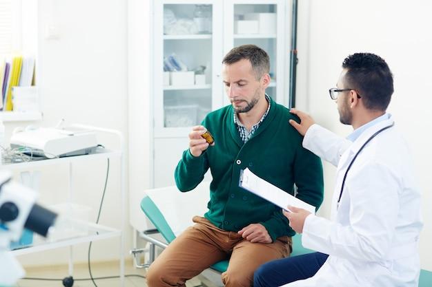 Medicación para el paciente