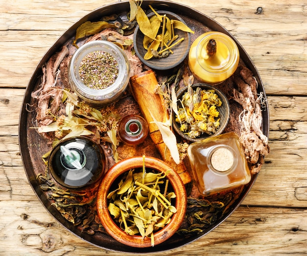 Medicina alternativa a base de hierbas