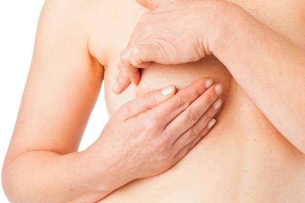 Medicina y enfermedad - cáncer de seno
