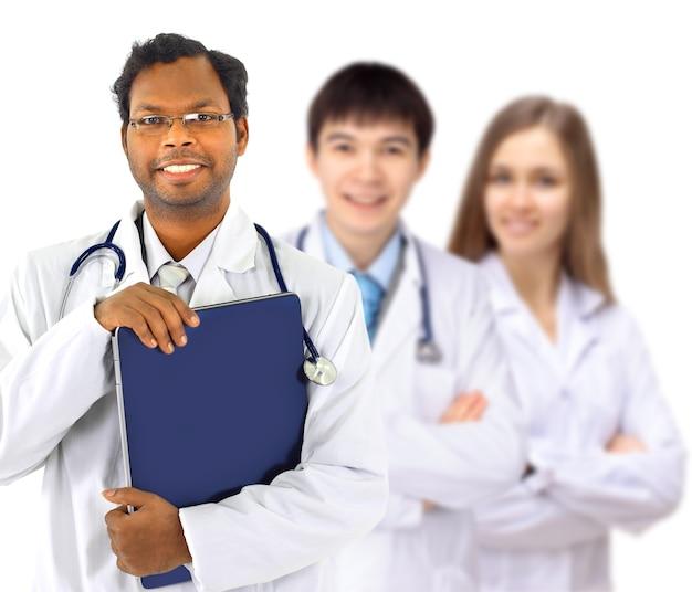 El médico y los internos Foto Premium