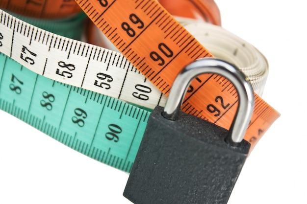 Medidores de vestimenta con tamaño ideal clásico