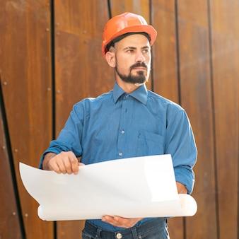 Medio corto del plan de mantenimiento del arquitecto