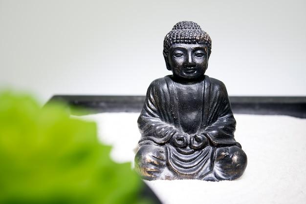 Meditación zen buda